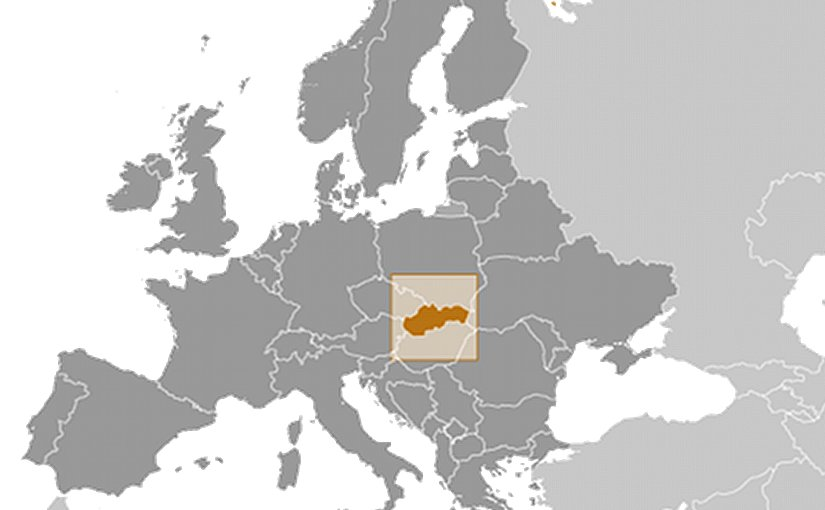 Location of Slovakia. Source: CIA World Factbook.