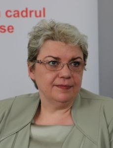 Romania's Sevil Shhaideh. Photo Ministry of Regional Development and Public Administration, Wikipedia Commons.
