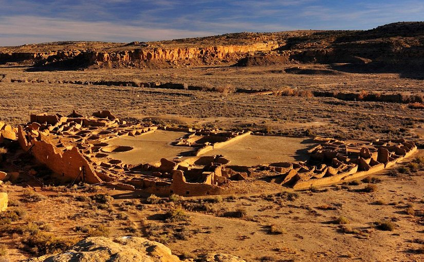 WSU scientists use data from archaeological sites like the 1,200-year-old Pueblo Bonito in Chaco Canyon, N.M., to study how ancient peoples adapted to climate change in the American Southwest. Credit Nate Crabtree