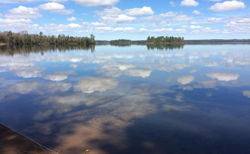 Clear lakes, like northern Wisconsin's Trout Lake, are most susceptible to becoming murkier in wet years, but limiting farming in riparian areas can help buffer them from increased runoff. Credit Adam Hinterthuer, UW-Madison Center for Limnology