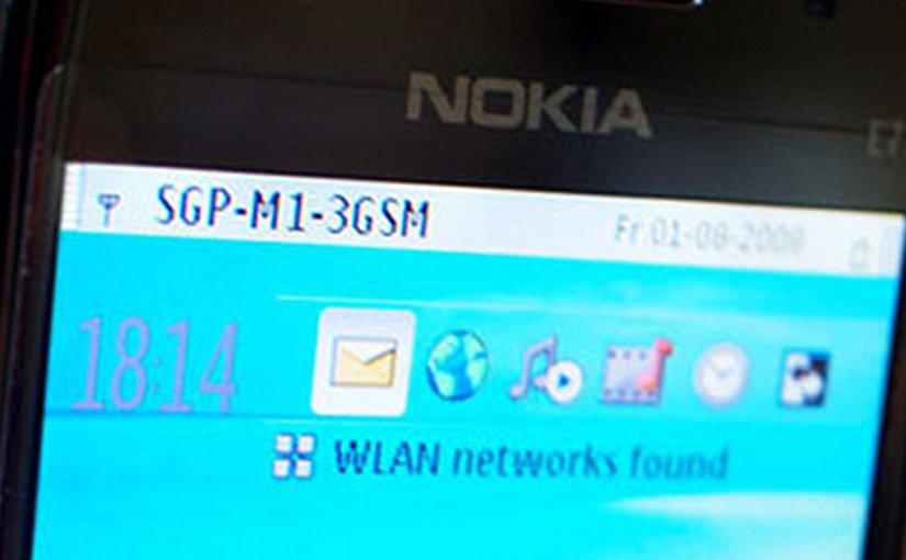 Nokia smartphone mobile telephone
