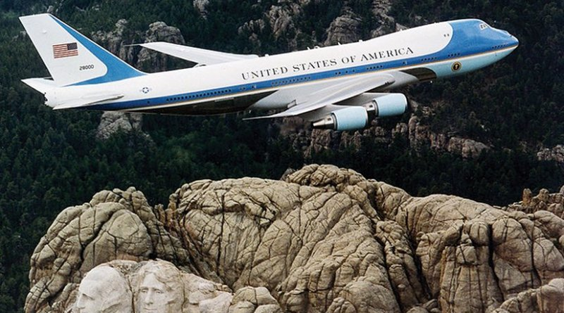 Air Force 1. U.S. Air Force File Photo, Wikipedia Commons.