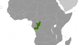 Location of Republic of Congo. Source: CIA World Factbook.