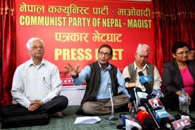 (Press conference by the CPN-Maoist, undated)