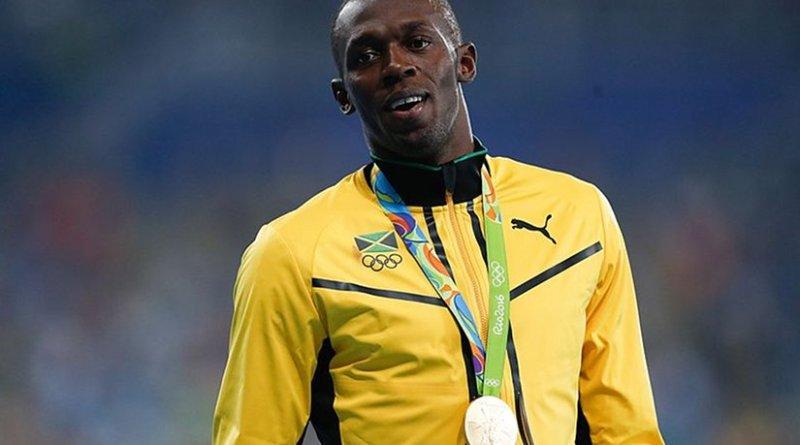 Jamaica's Usain Bolt. Photo by Fernando Frazão/Agência Brasil, Wikipedia Commons.