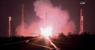 Launch of Russia's Progress MS-04. Photo Credit: NASA, Wikipedia Commons.