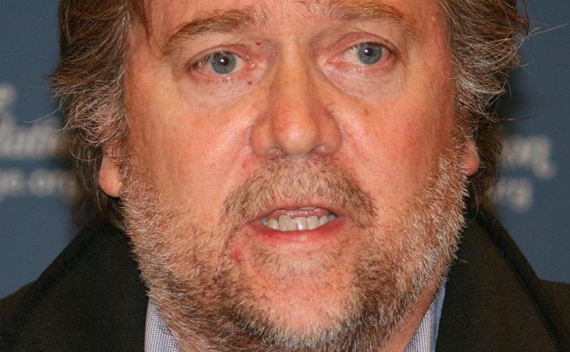 Steve Bannon. Photo by Don Irvine, Wikipedia Commons.