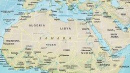 Europe's Southern Neighbourhood. Source: CIA World Factbook.
