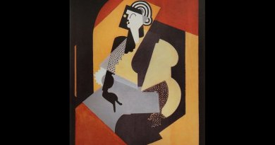 Albert Gleizes, 1920, Femme au gant noir (Woman with Black Glove),