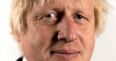 United Kingdom's Boris Johnson. Photo Credit: Government of UK, Wikipedia Commons.