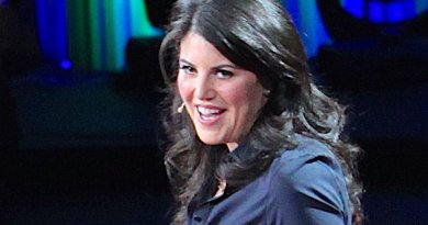 Monica Lewinsky during her TED Talk, March 2015. Wikipedia Commons.