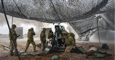 U.S soldiers execute a fire mission to support Iraqi security forces during the Mosul counteroffensive in northern Iraq, Dec. 24, 2016. About two months later, Iraqi forces with coalition assistance have launched the operation to liberate western Mosul -- the last ISIS stronghold in the city. Army photo by 1st Lt. Daniel Johnson