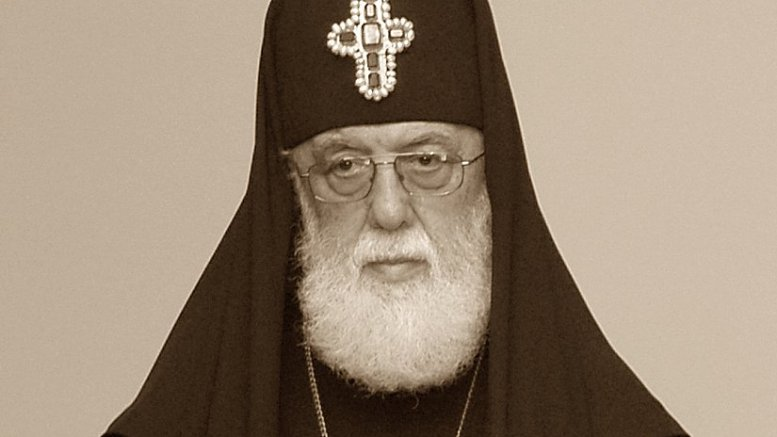 Illia II, Patriarch of Georgia's Orthodox Church. Photo by Surprizi, Wikipedia Commons