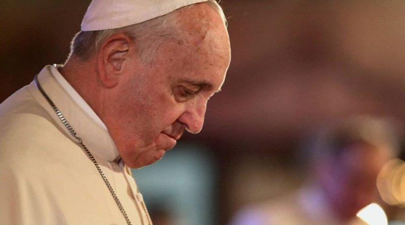 Pope Francis. Photo by Benhur Arcayan, Malacañang Photo Bureau, Wikimedia Commons.