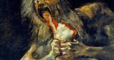 """Saturn Devouring His Son"", by Francisco de Goya."