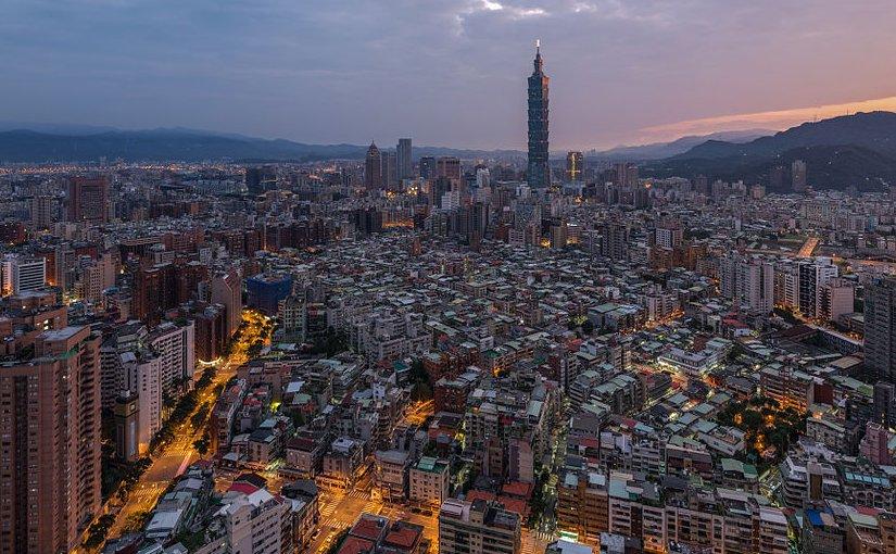 Taipei, Taiwan. Photo by Chensiyuan, Wikipedia Commons.