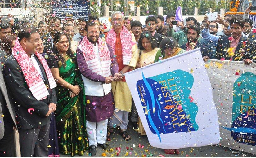 Participants at the Brahmaputra Literary Festival. Photo credit: Nava Thakuria