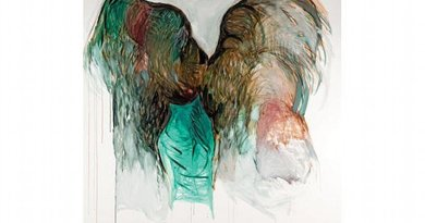"Hala Al-Khalifa's ""She Wore Her Scars Like Wings"". Photo Credit: Arab News."