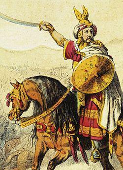 The Amazigh leader Tariq Ibnou Zayyad (670-720)