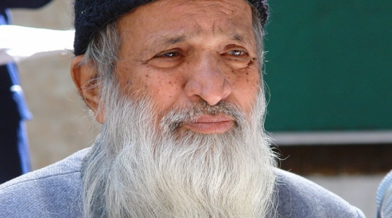 Dr. Abdul Sattar Edhi. Photo by Hussain, Wikipedia Commons.