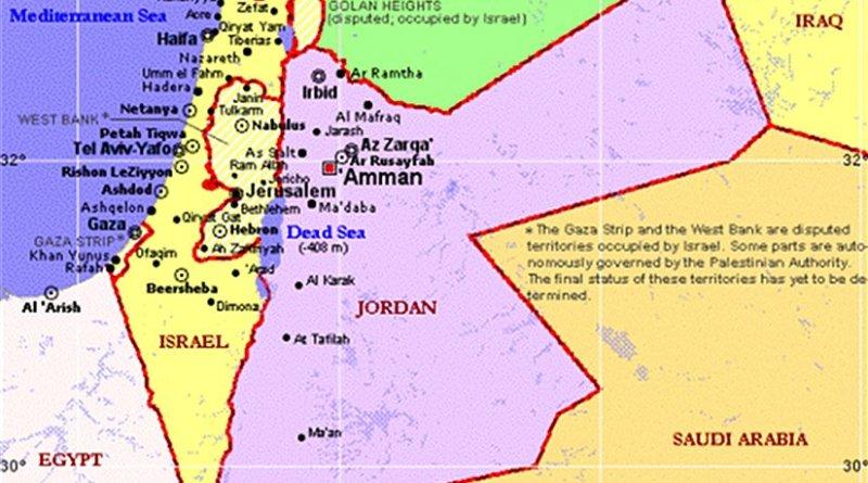 Israel, Jordan and Palestine