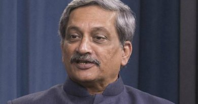 India's Manohar Parrikar. Photo by Ash Carter, Wikipedia Commons.