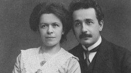 Mileva Maric-Einstein with her husband Albert. Photo: Wikimedia Commons.