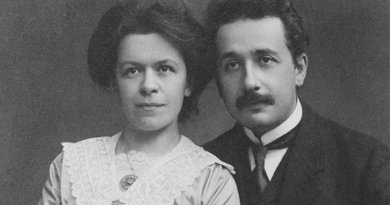 Mileva Maric-Einstein with her husband Albert. Photo: Wikimedia Commons.