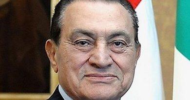 Egypts Hosni Mubarak. Photo Credit: Presidenza della Repubblica, Wikipedia Commons.