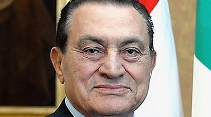 Egypts Hosni Mubarak. Photo Credit: Presidenza della Repubblica, Wikipedia Commons.