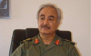 Libya's General Khalefa Haftar. Photo Credit: Magharebia, Wikipedia Commons.
