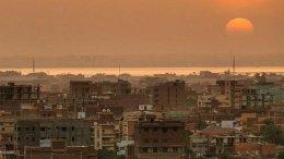 Sunset in Khartoum, Sudan. Photo by Ahmed Rabea, Wikipedia Commons.