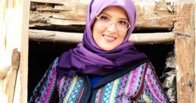 Iran's Hengameh Shahidi. Photo via Radio Zamaneh.
