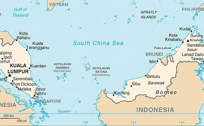 Map of Malaysia: Source: U.S. Department of State