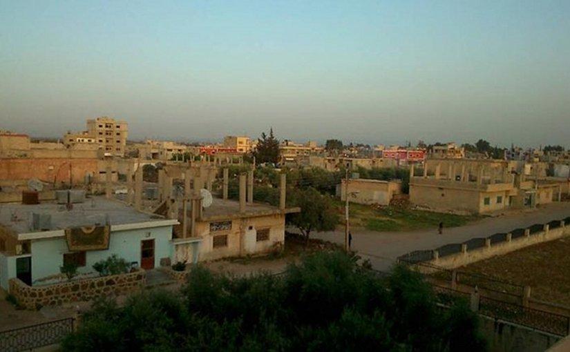 Al-Sanamayn, April 2017. Photo Credit: Syria Comment