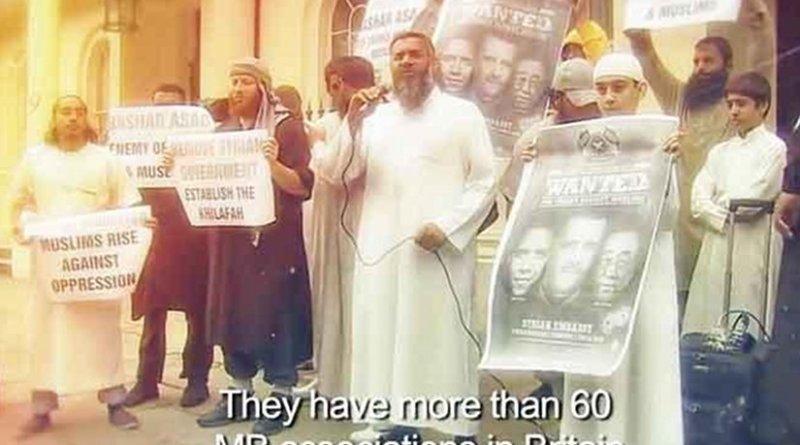 A screenshot of Sky News Arabia documentary.