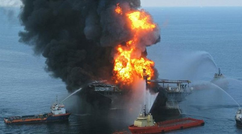 BP Deepwater Horizon oil spill. Photo courtesy US Coast Guard.