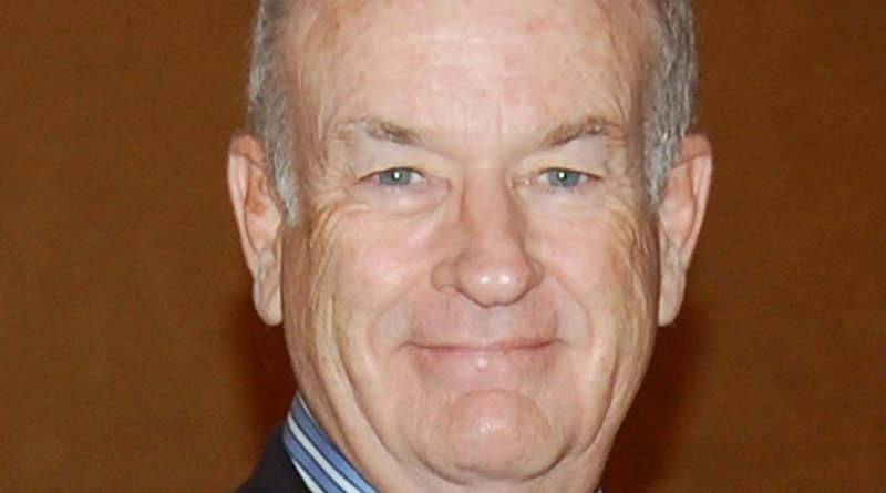 Bill O'Reilly. Source: Wikipedia Commons.