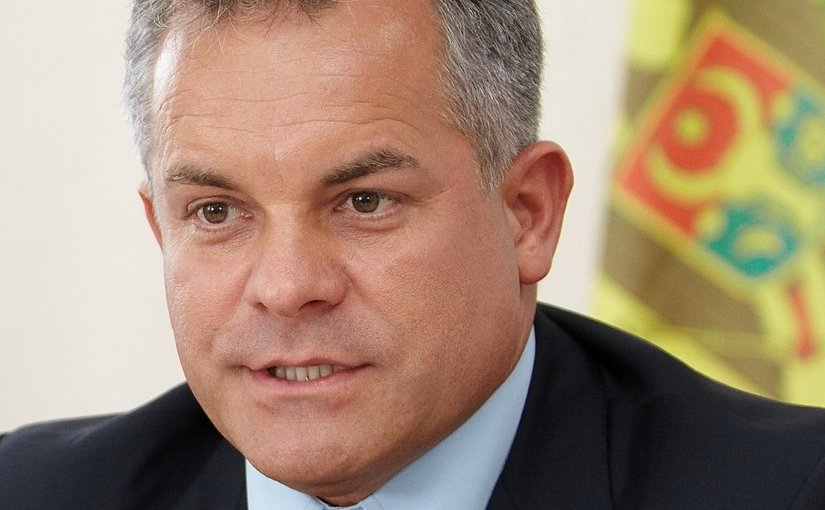 Moldova's Vladimir Plahotniuc. Photo Credit: Office of Vlad Plahotniuc, Wikimedia Commons.