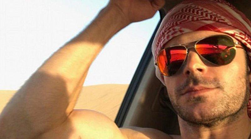 Zac Efron. Photo via Arab News.
