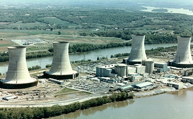 Three Mile Island nuclear plant in Pennsylvania. (Image: NRC)