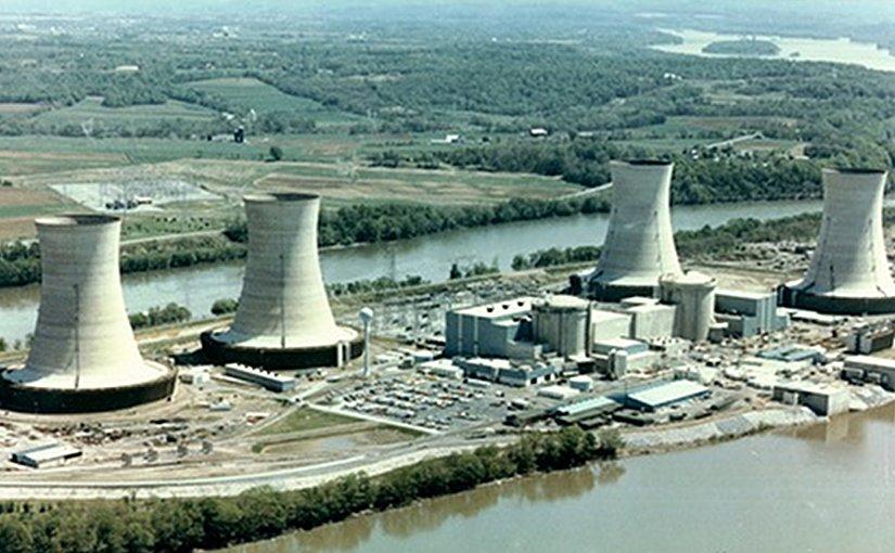 Three Mile Island nuclear plant in Pennsylvania. (Image: NRC)