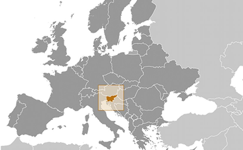 Location of Slovenia. Source: CIA World Factbook.