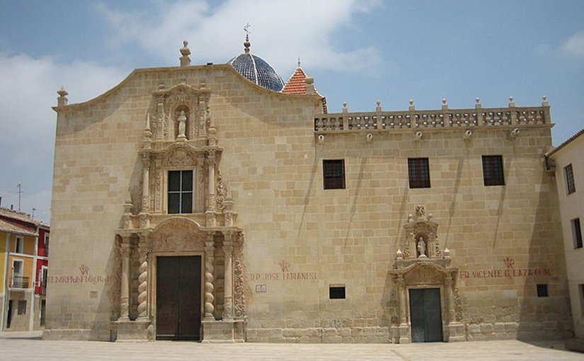 Monasterio de la Santa Faz in Alicante, Spain. Photo by Rodriguillo, Wikipedia Commons.