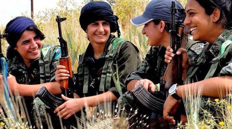 Kurdish YPG Fighters. Photo by Kurdishstruggle, Wikimedia Commons.