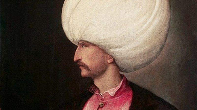 Suleiman the Magnificent in a portrait attributed to Titian c.1530.