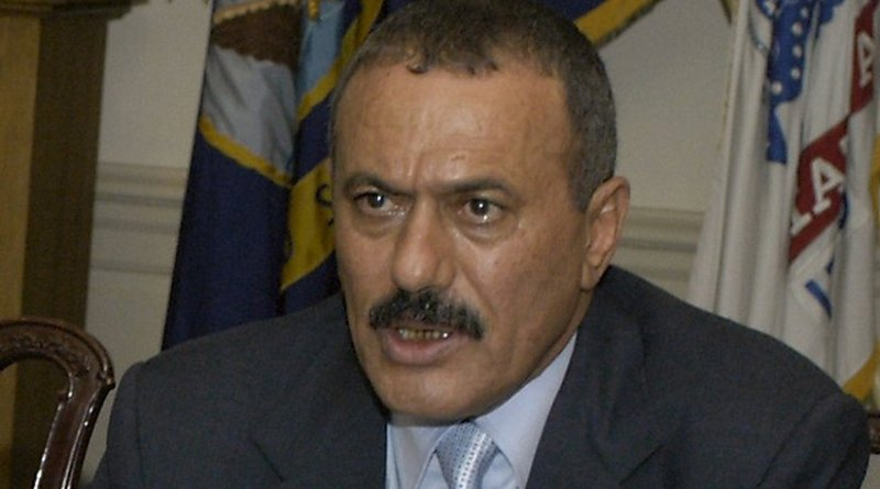 Yemen's Ali Abdullah Saleh. DoD photo by Helene C. Stikkel.