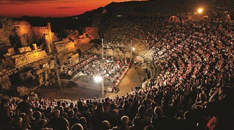 Opera at a festival in Turkey/