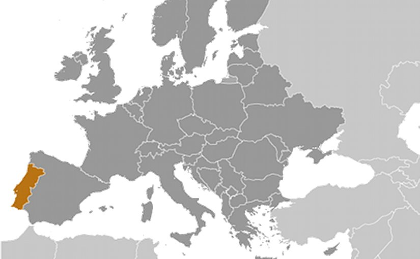Location of Portugal. Source: CIA World Factbook.
