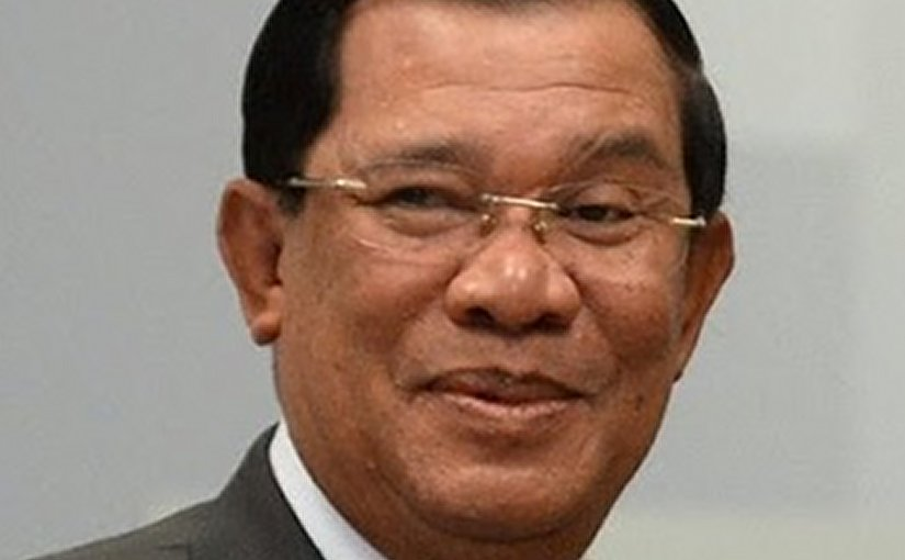 Cambodia's Prime Minister Hun Sen. Photo Credit: Kremlin.ru, Wikipedia Commons.